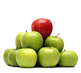 Apples Differentiation