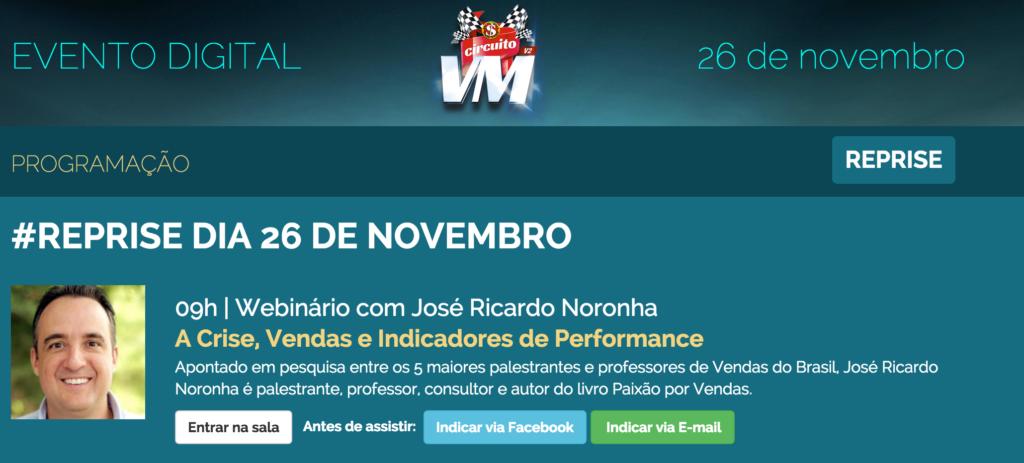 Reprise Circuito VM 2015